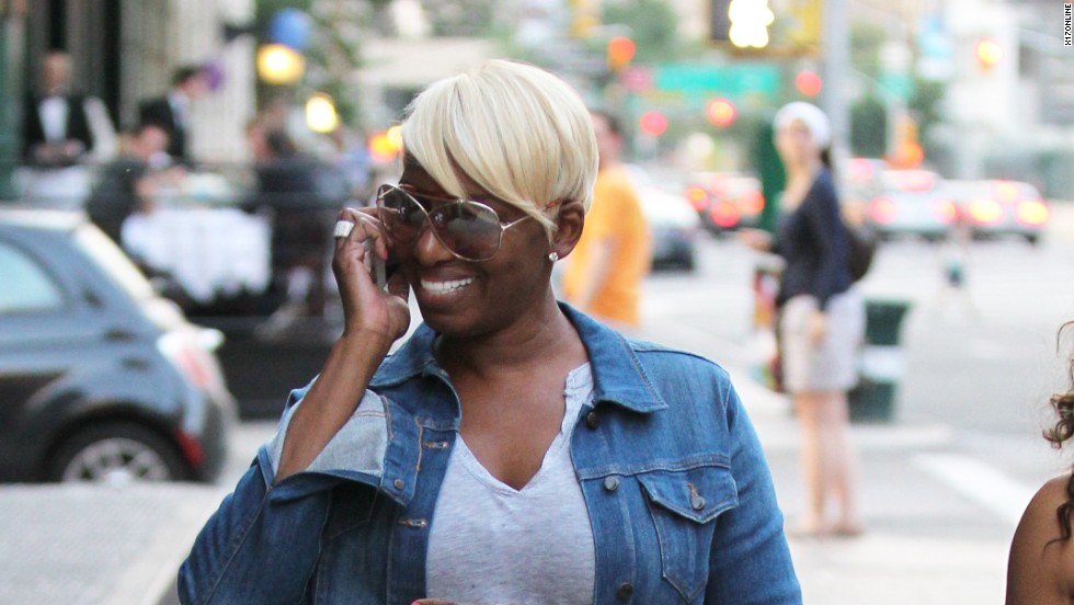 NeNe Leakes shops in New York City on June 9.