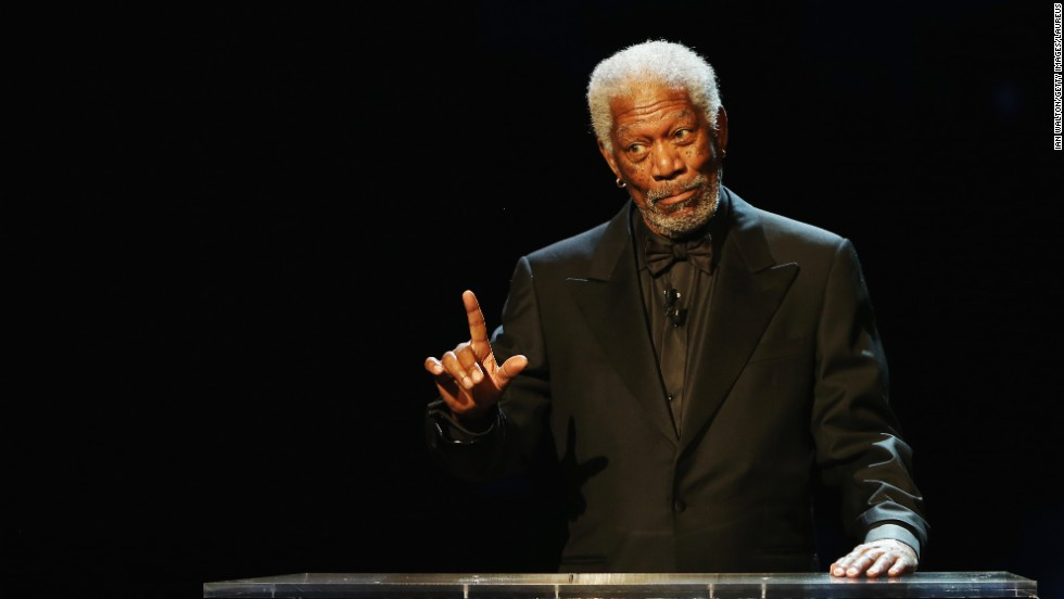 """Award-winning actor Morgan Freeman often offers his bizarre views on faith and also refers to himself as God, telling interviewers that he is God because """"God's created in my image."""" Morgan has even portrayed God on the big screen in """"Bruce Almighty."""""""