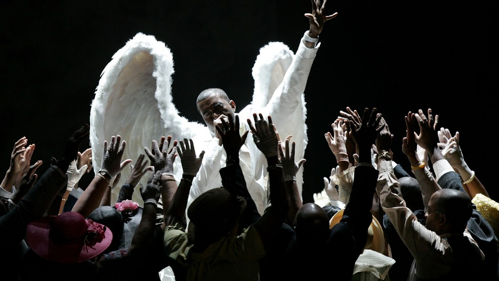 "<strong>February 2006: </strong>A year after <a href=""http://www.mtv.com/news/articles/1496909/ray-charles-wins-most-grammys-kanye-steals-show.jhtml"" target=""_blank"">his theatrical performance of ""Jesus Walks""</a> at the Grammys, West posed as<a href=""http://www.rollingstone.com/music/news/the-100-best-covers-the-passion-of-kanye-west-20060518"" target=""_blank""> Jesus Christ on the cover of Rolling Stone magazine</a> in February 2006. It was a move so controversial he later claimed, ""I can't even get endorsements now. The ones that might have been open to me when I was just a cute kid in a Polo."""