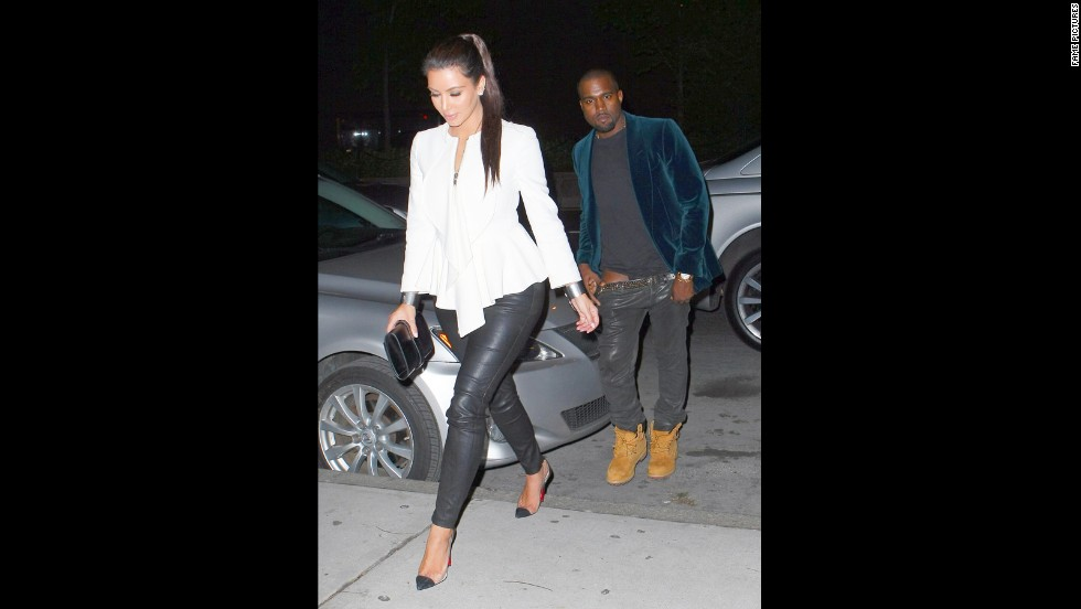 "<strong>April 2012: </strong>With speculation raging, since he couldn't seem to keep his pants up while hanging out with Kim Kardashian, <a href=""http://marquee.blogs.cnn.com/2012/04/05/kanye-admits-he-fell-in-love-with-kim-k-in-song/"" target=""_blank"">Kanye dropped a single in which he admitted he was in love with her.</a> Time soon revealed that the two were indeed an item."