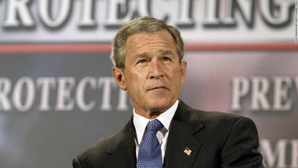 "<a href=""http://www.nytimes.com/2005/12/16/politics/16program.html"" target=""_blank"">The New York Times reported in 2005</a> that in the months after the September 11, 2001, attacks, President George W. Bush authorized the U.S. National Security Agency to eavesdrop without a court warrant on people in the United States, including American citizens, suspected of communicating with al Qaeda members overseas. The Bush administration staunchly defended the controversial surveillance program. Russ Tice, an NSA insider, came forward as one of the anonymous sources used by the Times. He said he was concerned about alleged abuses and a lack of oversight. Here, President Bush participates in a conversation about the Patriot Act in Buffalo, New York, in April 2004."