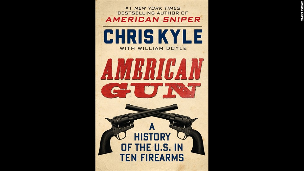 "<strong>(Available Now) </strong>Former Navy SEAL and ""American Sniper"" author Chris Kyle, <a href=""http://www.cnn.com/2013/02/03/us/texas-sniper-killed-kyle-profile/index.html?iref=allsearch"" target=""_blank"">who was killed in February,</a> spins a different kind of history lesson in ""American Gun: A History of the U.S. in 10 Firearms."" While the title conveys the book's format -- Kyle used a carefully selected list of weapons to explore how they changed and influenced American history -- that's not the whole of ""American Gun."" ""Rather,"" <a href=""http://books.usatoday.com/book/%E2%80%98american-gun-is-loaded-with-history-and-personality/r851627"" target=""_blank"">says USA Today in a review</a>, ""it's a celebration of his life and voice."""