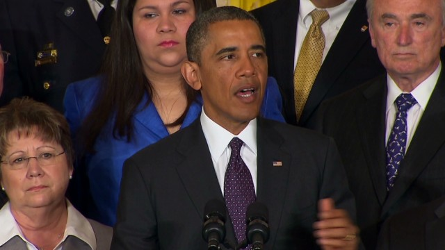 Obama: Immigration bill is tough on border security