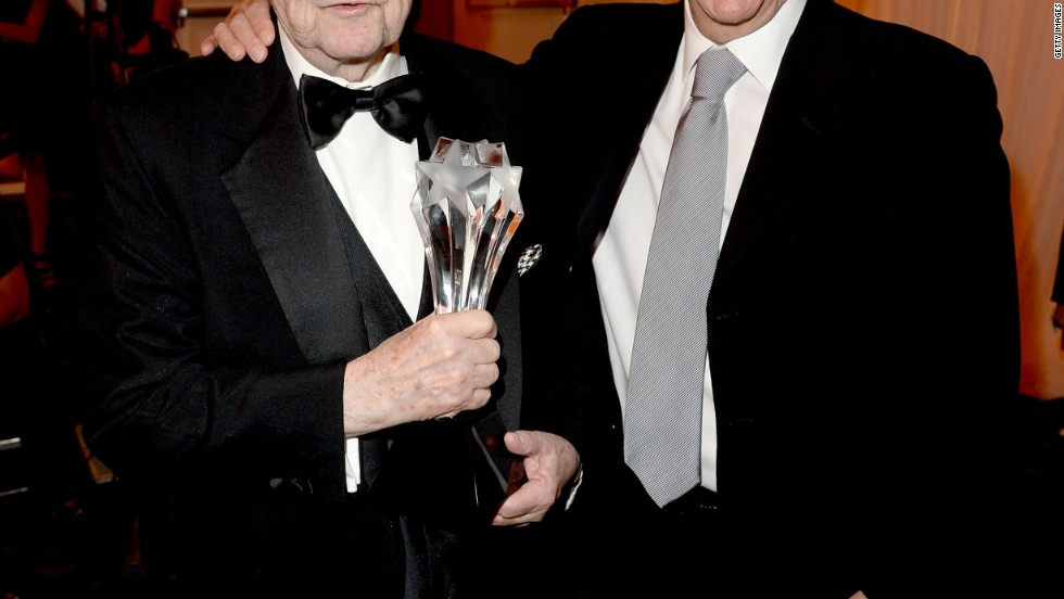 Bob Newhart and Henry Winkler attend the Critics' Choice Television Awards in Los Angeles.