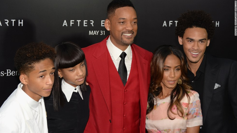 "The Smiths -- from left, Jaden, Willow, Will, Jada Pinkett and Trey -- stay busy attending one another's movie premieres and listening parties. Jaden has rapped on songs with Justin Bieber and appeared in films such as ""The Karate Kid,"" ""The Pursuit of Happyness"" and ""After Earth"" (the latter two with his dad). Willow made her acting debut in her dad's ""I Am Legend"" but has focused mostly on music."