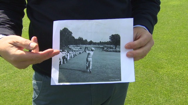 Recreating golf's most iconic photograph