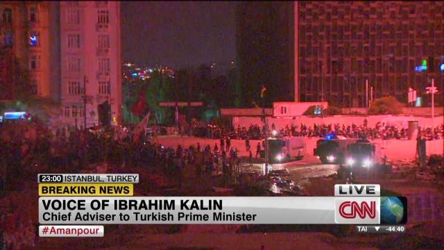 Erdogan's chief adviser on protests