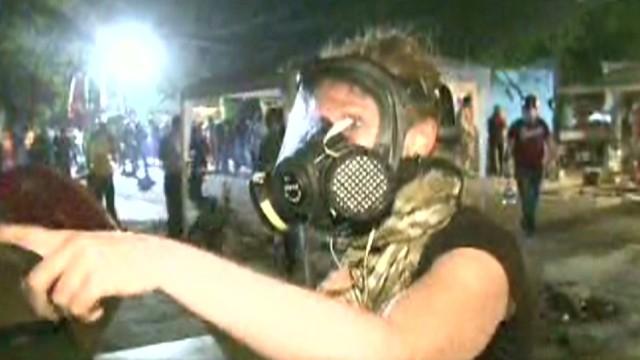 erin damon turkey protest tear gas attack cnn crew_00030413.jpg