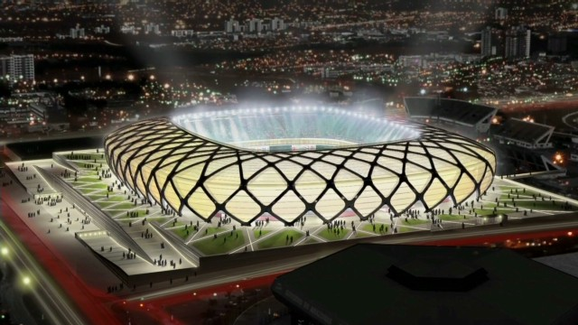 World Cup stadium in Amazon rainforest