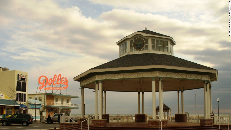 Rehoboth Beach, Delaware, is home to art galleries and dance venues like the Rusty Rudder and Shag.