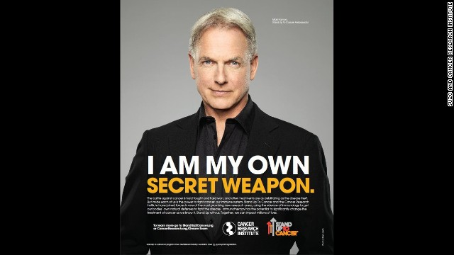 Actor Mark Harmon appears in a new PSA from Stand Up to Cancer and the Cancer Research Institute.