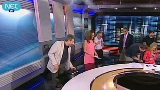 Off air, out of work for Greece's ERT TV