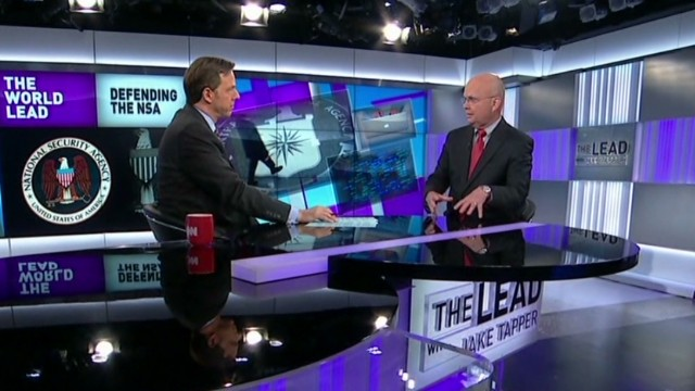 Fmr. NSA director defends surveillance