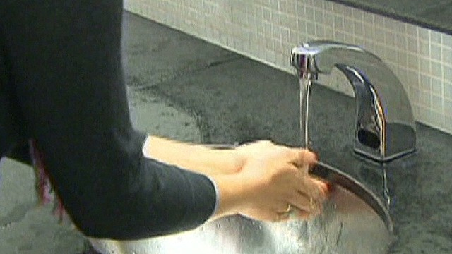 Hand washing study reveals dirty secrets