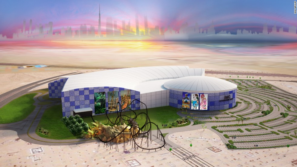 While Dubai may not be a contender, it has other ambitious plans in the works, including IMG Worlds of Adventure (a working title). The theme park is set to be the largest temperature-controlled indoor theme park, and will open in the long-delayed Dubailand development. Zones dedicated to animatronic dinosaurs and Marvel comic and Cartoon Network characters are in the works.