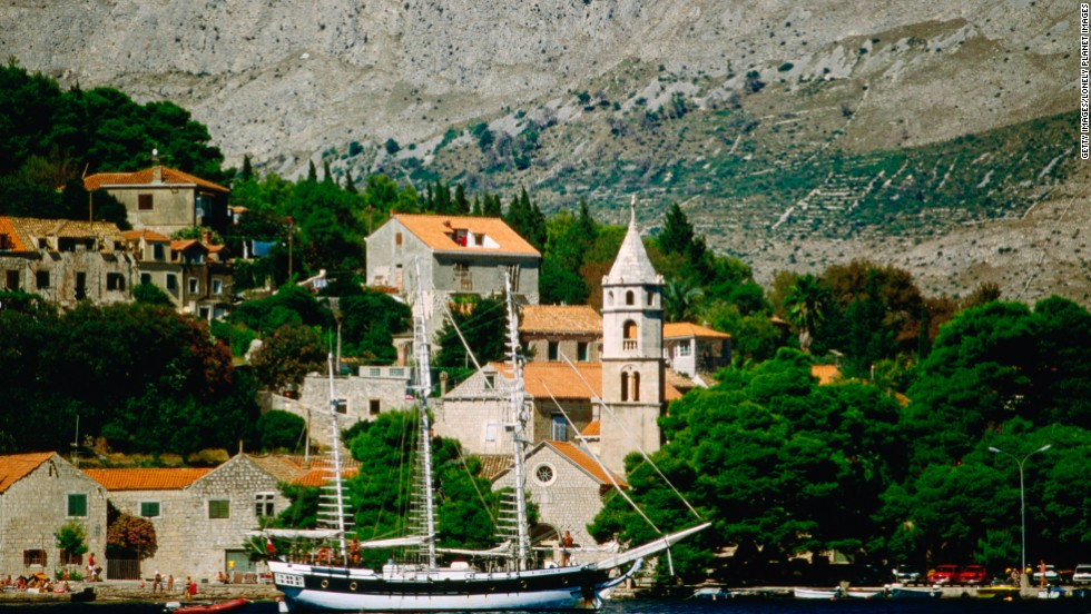 """Croatia offers a bustling cafe scene in the capital of Zagreb, Dubrovnik is a key stop for """"Game of Thrones"""" fans, and there are other beautiful seaside spots like the town of Cavtat (shown here)."""