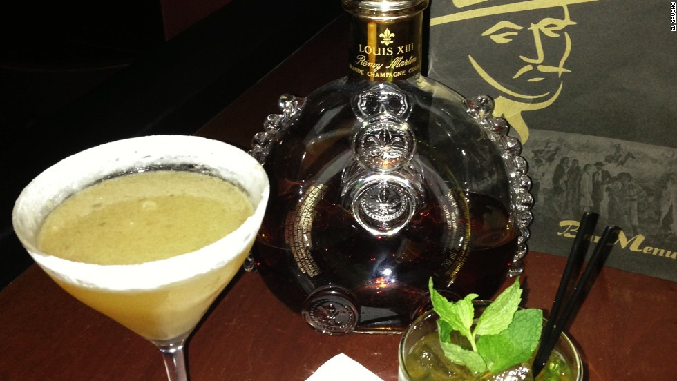 There are four drinks in the El Series lineup from El Gaucho in Portland, Oregon -- Louis XIII cognac is the base for all of them. Is this still the town where young people go to retire?