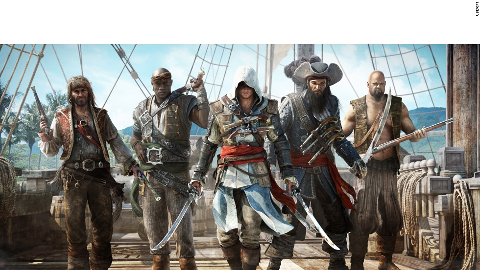 It's a pirate's life in the fourth installment in this wildly popular franchise. Set in the 18th-century West Indies, players step back into the boots of Edward Kenway and set sail for adventure, interacting with famous pirates like Blackbeard as they contend with warring British and Spanish ships and other privateers.