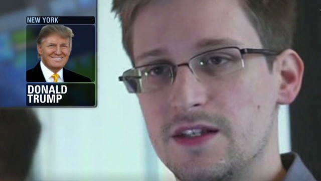 Trump: Snowden is bad news