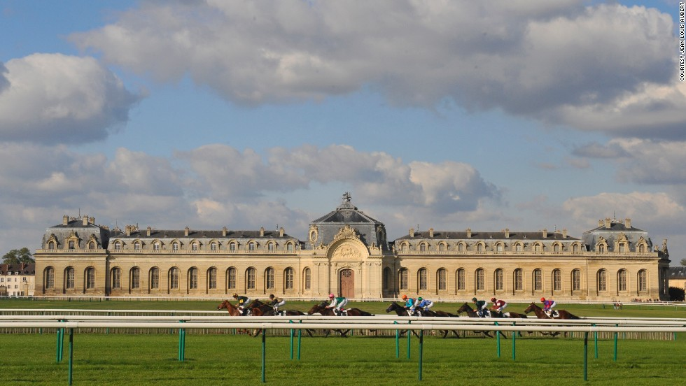 It might look like a palace, but this is in fact the Grand Stables in Chantilly, northern France.