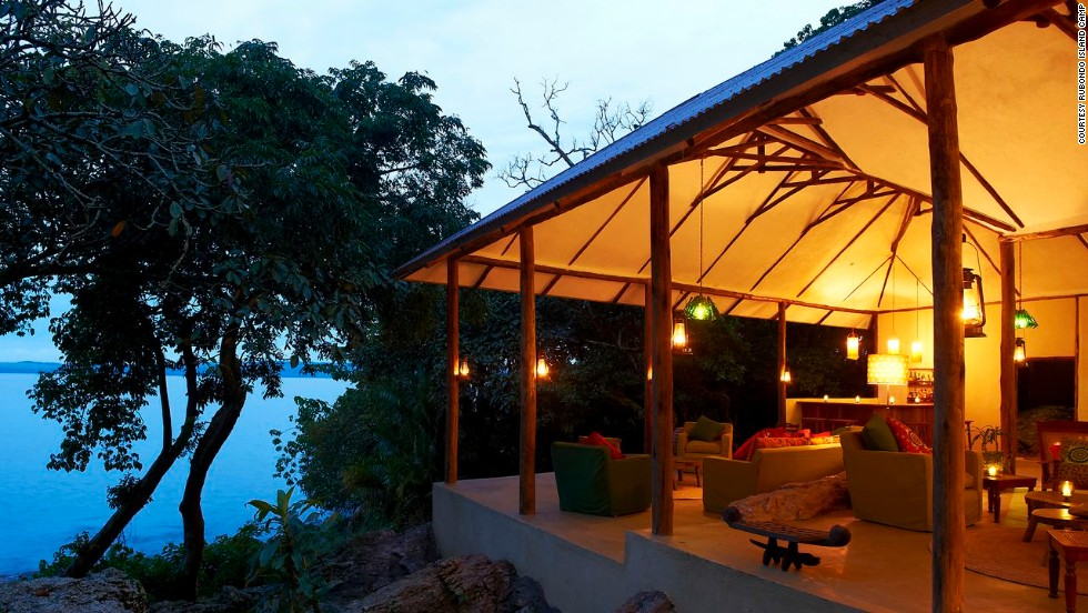 Rubondo Island Camp on Lake Victoria in Tanzania opened in late 2012. You and 15 friends can rent out the lodge's eight suites for $4,500 a night.