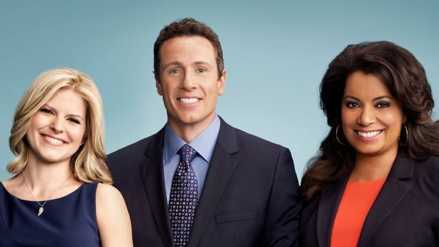 CNN New Day cast Kate Bolduan, Chris Cuomo and Michaela Pereira