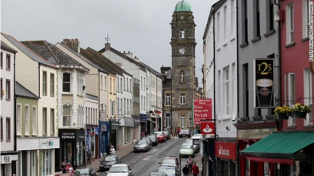 The town of Enniskillen, Northern Ireland, will host the G8 Summit next week.
