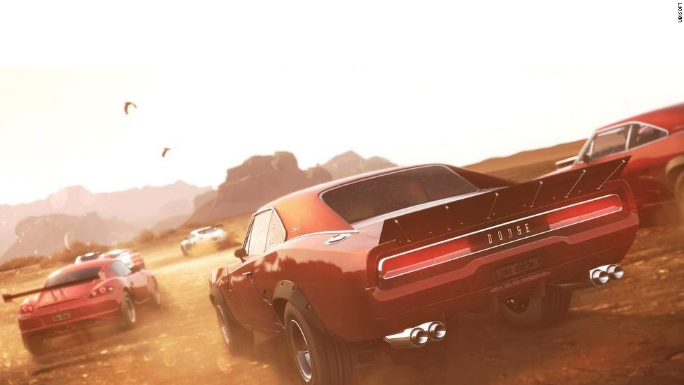 "Ubisoft's ""The Crew"" offers the entire United States as a racetrack for players, including missions in fully realized cities like New York, Las Vegas and New York. It also lets gearheads fully customize their vehicles to the specs they want."