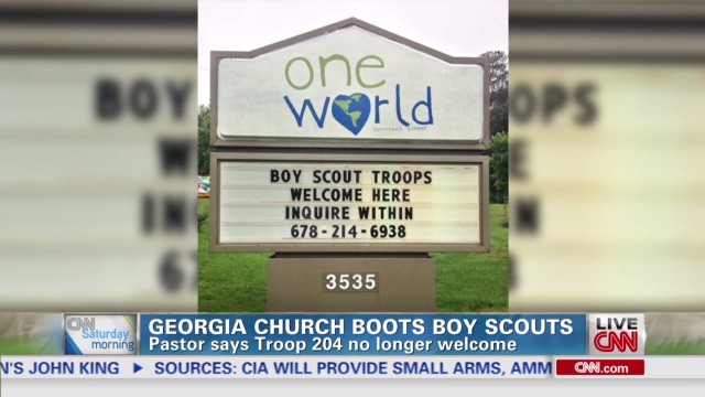 Pastors differ on Boy Scouts' decision