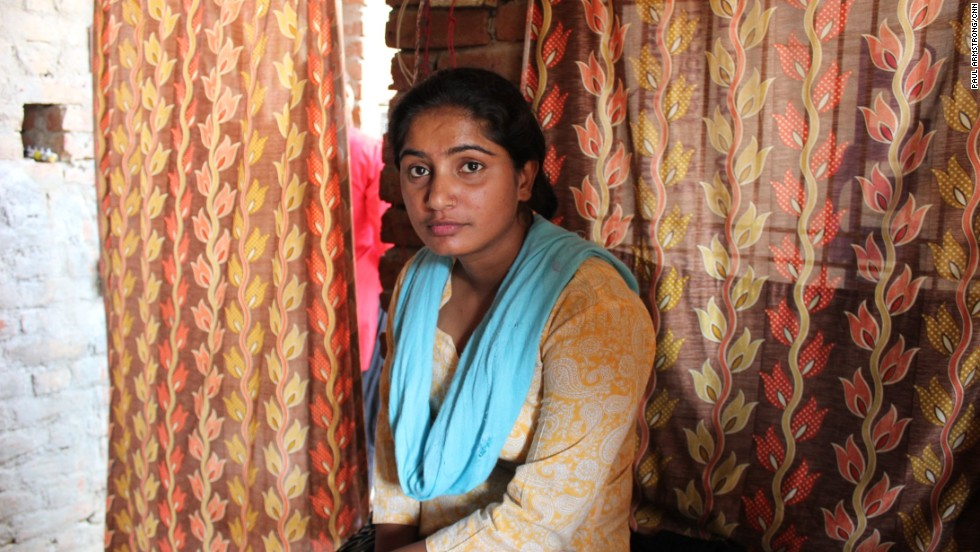 Usha felt compelled to act after being attacked by a male colleague -- she felt she received no help from the police or her local community.