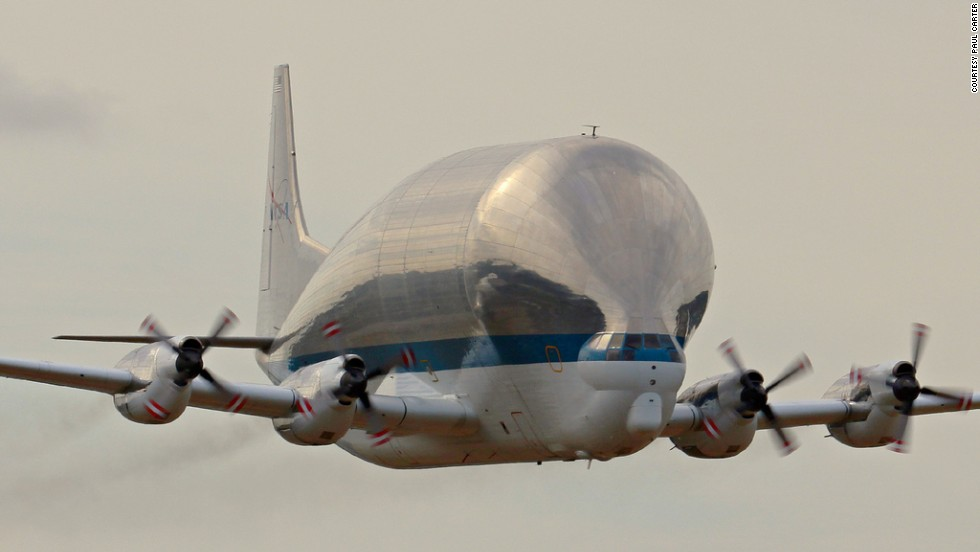 NASA's Super Guppy hauls giant cargo ranging from smaller airplanes to components destined for the International Space Station. Click through the gallery for more images of big planes.