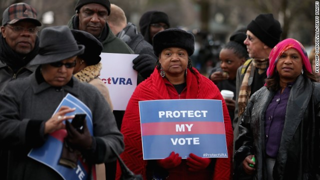 Supreme Court limits Voting Rights Act