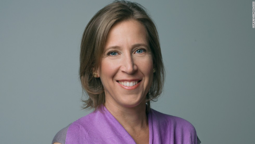 Susan Wojcicki is the chief executive of YouTube.
