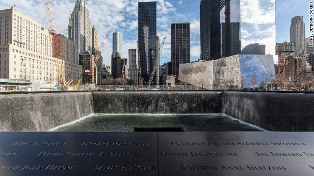 Pay your respects at twin reflecting pools that occupy the footprint of the former World Trade Center towers.