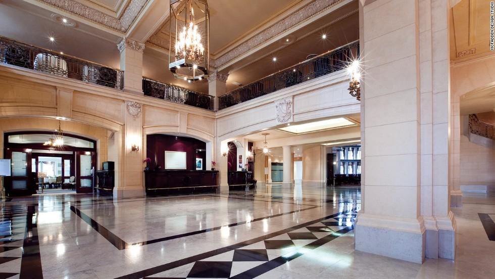 The Fort Garry Hotel in Winnipeg, Manitoba, reaches its centennial in December.