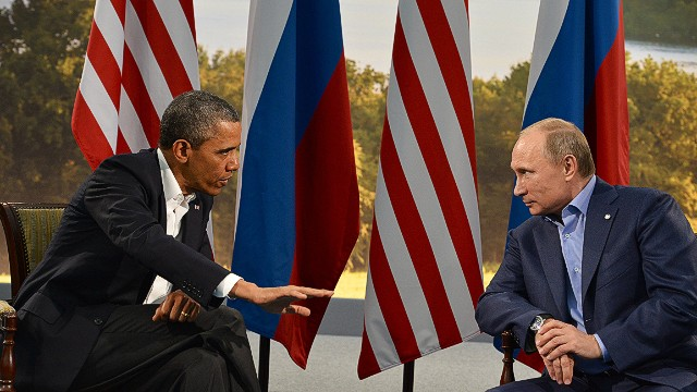 Obama, Putin disagree on Syrian solution