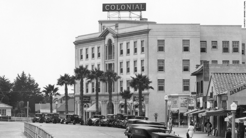 The original building was moved and a new, bigger building opened in the late 1920s.