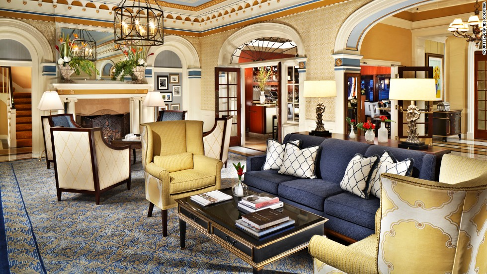 The Grande Colonial has been updated many times in its 100 years.
