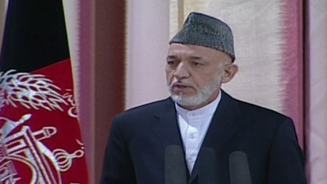 Afghan government takes over security