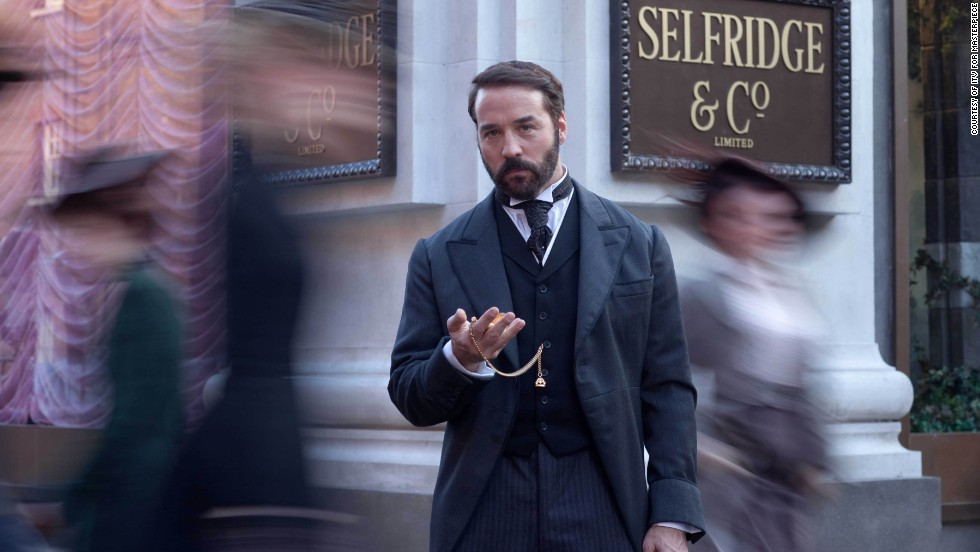 "Jeremy Piven brings the titular retail tycoon to life in ITV's ""<a href=""http://www.pbs.org/wgbh/masterpiece/programs/series/mr-selfridge/"" target=""_blank"">Mr. Selfridge</a>"" series, set in 1900s London. At the center of the show is the man and his department store, Selfridges. Overlapping ambition, flamboyance and affairs ensue. Season 3 bows on PBS March 20."