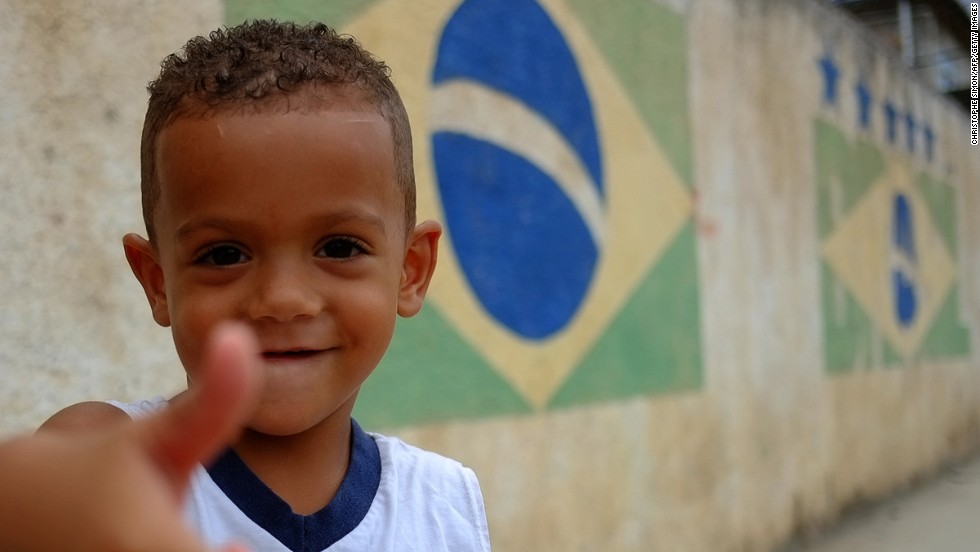 Not many Brazilians speak English, particularly outside Rio de Janeiro or Sao Paulo. They've seen all the American movies and know all the Adele songs, but the premium has traditionally been on getting a good education in Portuguese.