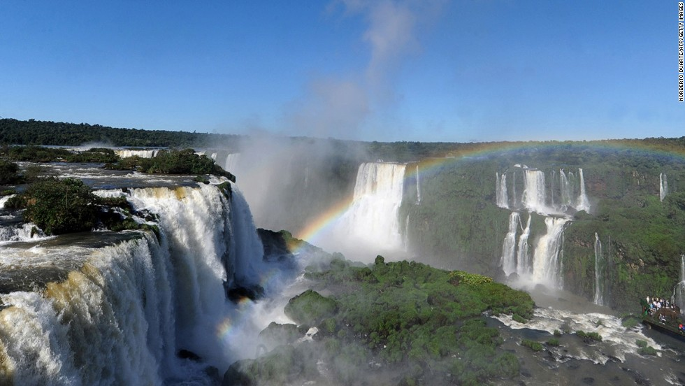 Brazilians revel in an outdoor culture, as befits a tropical land, and they have world-class natural environments to play in. Beaches, jungles, waterfalls (such as Iguazu Falls on the border of Argentina, pictured), it's here, often on an epic scale.