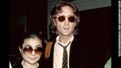 Former Beatle John Lennon and his wife, Yoko Ono,  in August 1980 in New York.