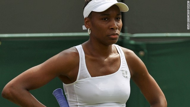 Venus Williams lost in the first round at Wimbledon last year but won the doubles title with sister Serena