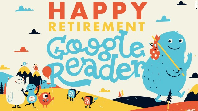 "Feedly wishes Google Reader a ""happy retirement"" and makes a pitch to replace the popular RSS feed."