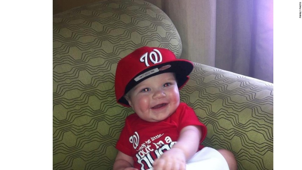 """The Russells are now raising awareness about congenital heart defects with their """"<a href=""""http://www.lilheartsluggers.org/index.php"""" target=""""_blank"""">Lil' Heart Sluggers</a>"""" campaign."""