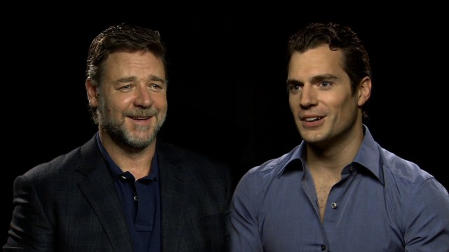 When Russell Crowe met a young Superman