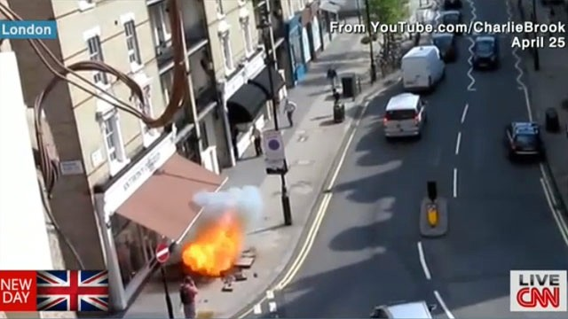 When sidewalks attack: London's exploding pavements
