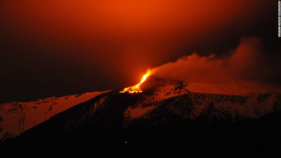 Instead of heading to Rome or Venice, journey south to the country where the true spirit of fourth-place Italy lives. Visitors are sure to get a warm welcome in Sicily and the city of Naples. The ruins of a catastrophic volcanic eruption in Pompeii are harrowing to see, while climbing Mount Etna (shown here) in Sicily, one of the world's most active volcanoes, is a thrilling adventure. And any worthwhile trip to Italy should be filled with food, such as Naples' bubbling wood-fired pizza.
