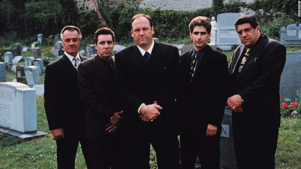 "We are fascinated with mobsters and those affected by them, both in real life and on screen. ""There's the reality of organized crime that nobody is in love with, and there's the mythologized version that everyone is in love with,"" said Ron Kuby, a lawyer who defended the late John Gotti. The cast of HBO's ""The Sopranos,"" from left, Tony Sirico, Steve Van Zandt, James Gandolfini, Michael Imperioli and Vincent Pastore. <a href=""http://www.cnn.com/2013/06/19/showbiz/gallery/james-gandolfini"" target=""_blank"">Gandolfini</a> died on June 19, 2013 from a heart attack at age 51."